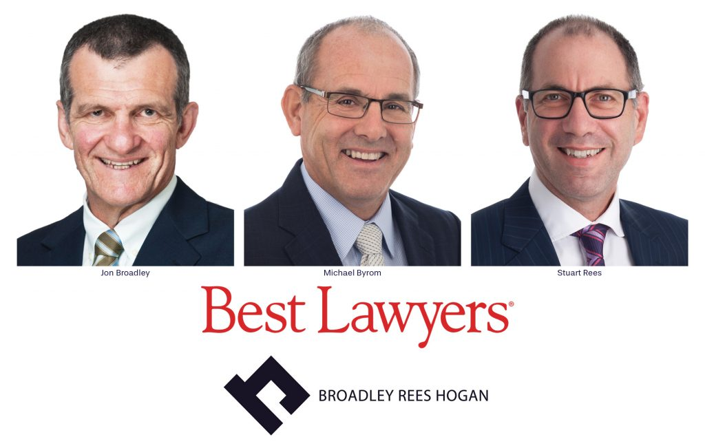 BRH Lawyers name in Best Lawyer 2021